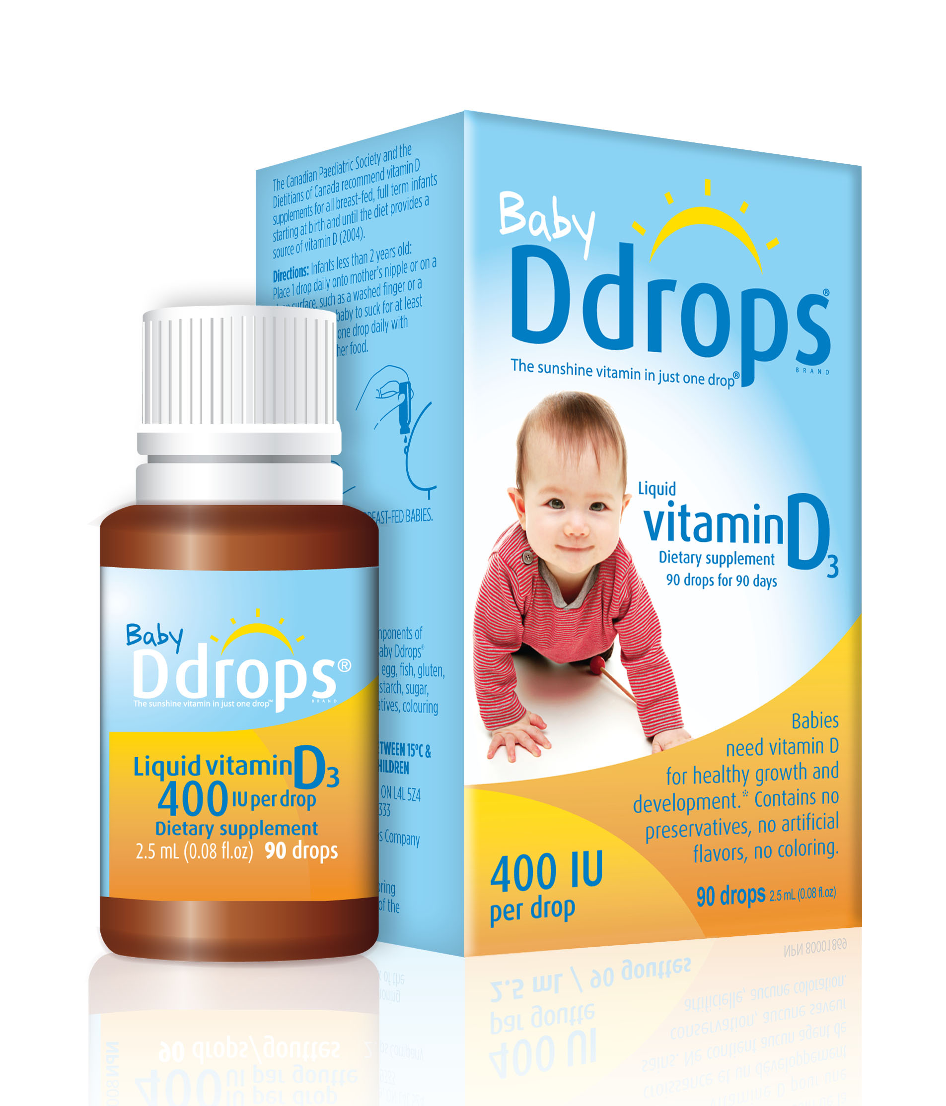 Vitamin D for babies. Need or not 90